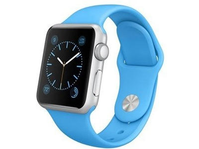 Смарт-часы Apple Watch Sport 38mm Silver Aluminum Case with Sport Band  (MJ2V2)