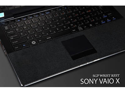 Защитная наклейка для Sony VAIO X Series Laptop - SGP Wristrest Series