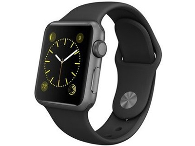 Смарт-часы Apple Watch Sport 38mm Space Gray Aluminum Case with Sport Band (MJ2X2)