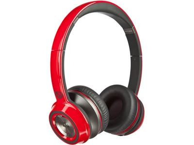 Monster NCredible NTune On-Ear Solid Red MNS-128516-00