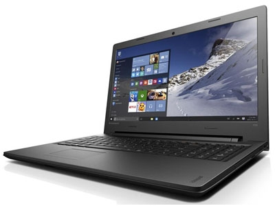 Lenovo  IdeaPad 100-15 (80MJ00FAUA) Black
