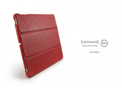 Чехол SGP iPad 2 Leather Case Leinwand
