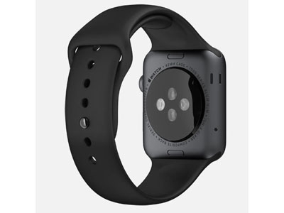 Смарт-часы Apple Watch Sport 42mm Space Gray Aluminum Case with Sport Band (MJ3T2)