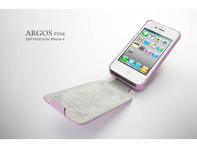 Кожаный чехол для iPhone 4 – SGP Leather Case Argos Series