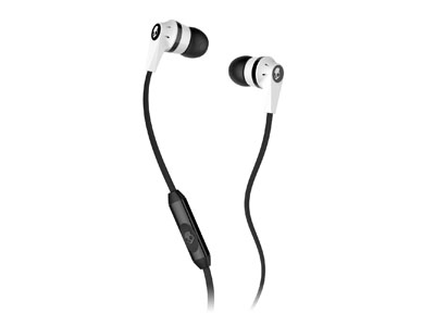 Наушники Skullcandy Ink'd 2.0  w/Mic White/Black