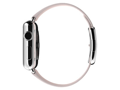 Смарт-часы Apple Watch 38mm Stainless steel Soft Pink Modern Buckle    (MJ362-372-382)