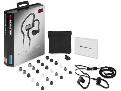 Наушники Monster Inspiration In-Ear Black with ControlTalk MNS-128975-00