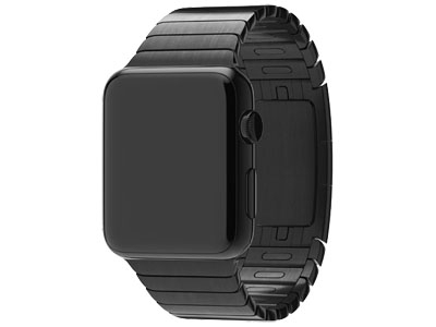 Смарт-часы Apple Watch 38mm Space Black Stainless Steel Case with Space Black Link Bracelet    (MJ3F2)