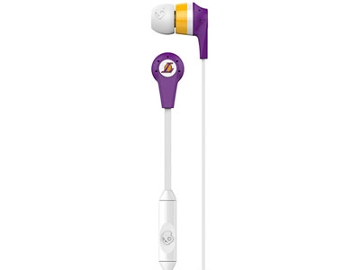 Наушники Skullcandy Ink'd 2.0 NBA Lakers w/Mic