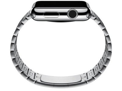 Смарт-часы Apple Watch 38mm Stainless Steel Case Case with LINK bracelet   (MJ3E2)