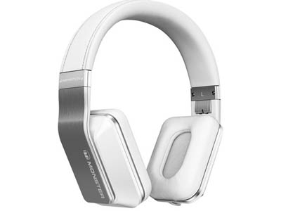 Наушники Monster Inspiration Active Noise Canceling Over-Ear Headphones  White MNS-128794-00