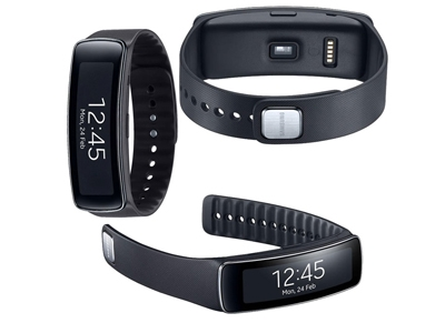 Samsung Gear Fit Black