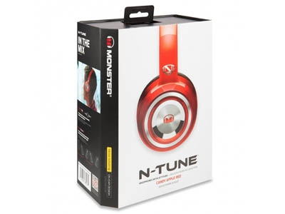 Наушники Monster NCredible NTune On-Ear Candy Red MNS-128506-00