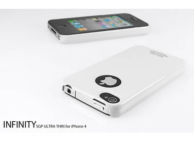 Пластиковый чехол для iPhone 4 – SGP Case Ultra Thin Pastel Series