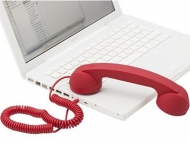 Native Union Pop Phone Soft Touch Red