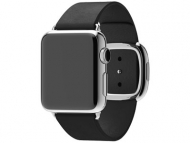 Смарт-часы Apple Watch 38mm Stainless Steel Black Modern Buckle (S,M,L)  (MJYK2-L2-M2)
