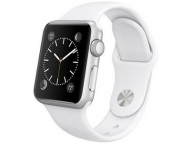 Смарт-часы Apple Watch Sport 38mm Silver Aluminum Case with Sport Band  (MJ2T2)